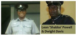 Sergeants Leon Powell and Dwight Davis