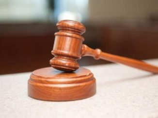 image of a gavel and block.